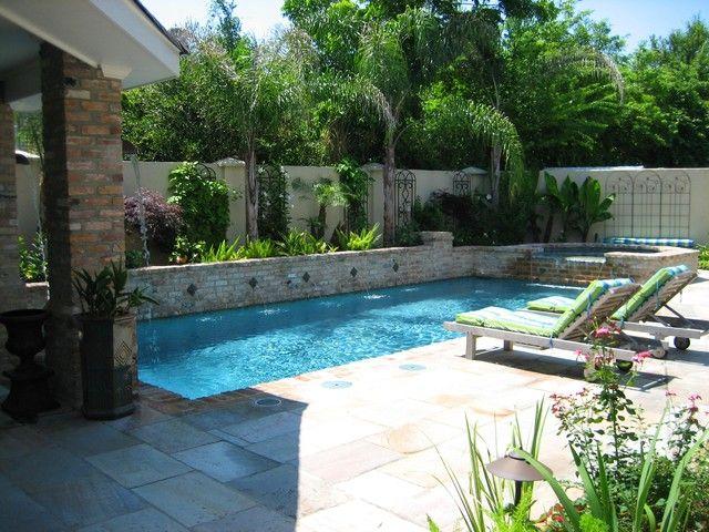 jardines con piscina mantenimiento y decoracin - Decoracion De Piscinas