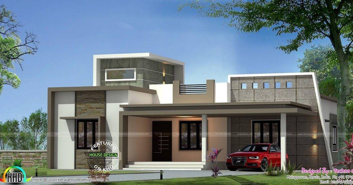 Beautiful Likable Houses Design Designs Single Elevation Contemporary House Plans Vaninadesig In 2020 Kerala House Design Single Floor House Design Modern House Plans