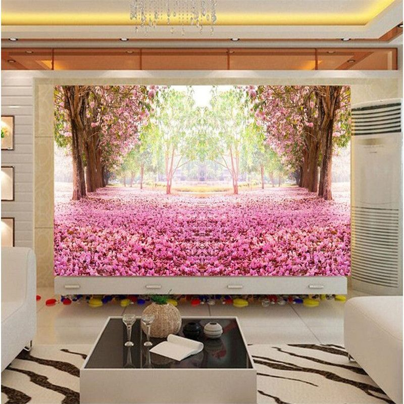 photo wallpaper quality wall painting for living room European TV ...