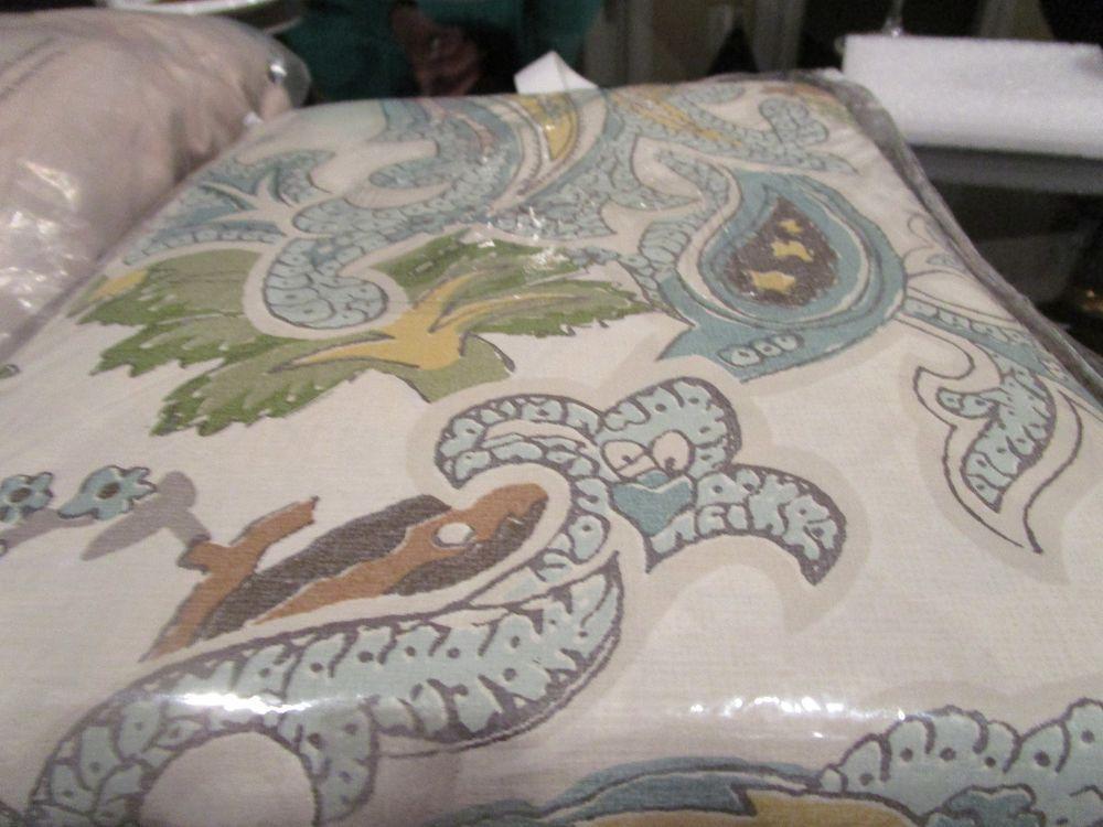 Pottery Barn Reza Palampore King Duvet New Wo Tags