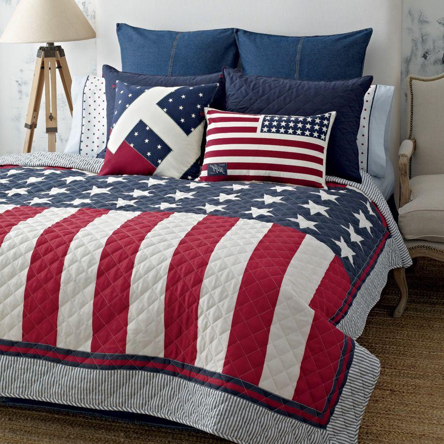 14 Gorgeous Patriotic Bedding Sets Image Inspirations