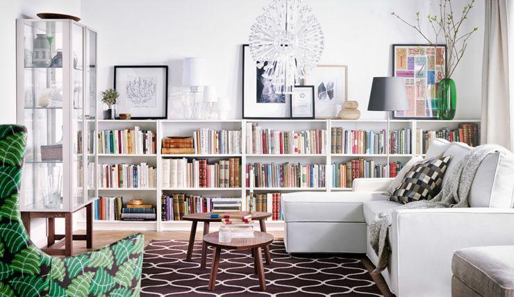 Een ode aan de BILLY boekenkast én alle hacks | Interiors, Living ...