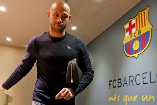 Blog Esportivo do Suíço:  Mascherano renova com Barcelona até 30 de junho de 2019