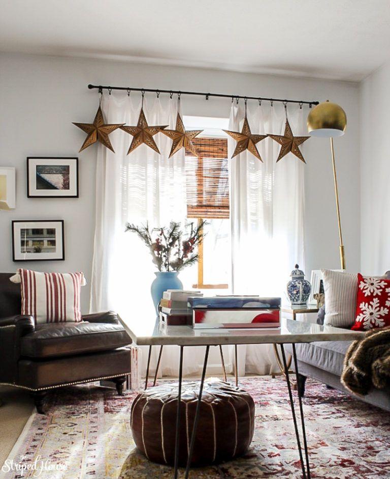 MODERN TRADITIONAL RED AND WHITE CHRISTMAS HOME TOUR Pinterest - christmas home decor