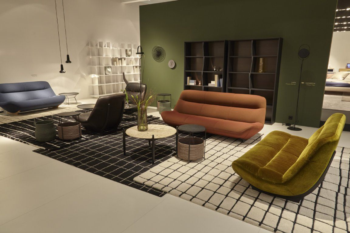 Manarola By Philippe Nigro For LIgne Roset. This Retro Looking Design Will  Be Out Autumn