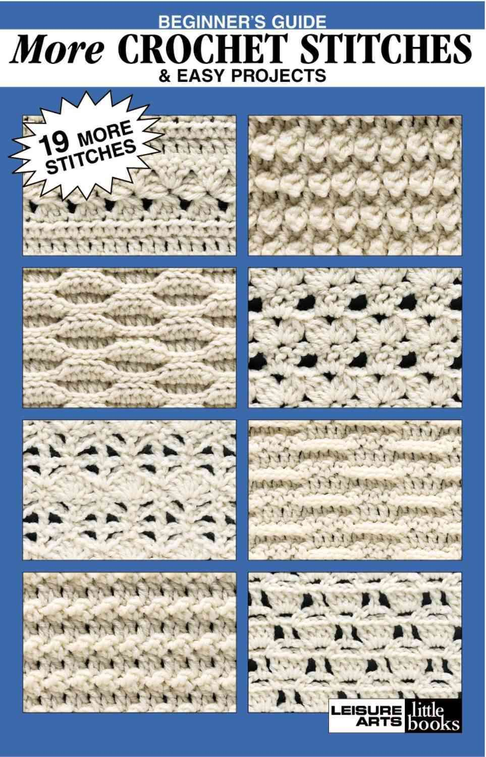 Beginner\'s Guide More Crochet Stitches & Easy Projects | crochet ...
