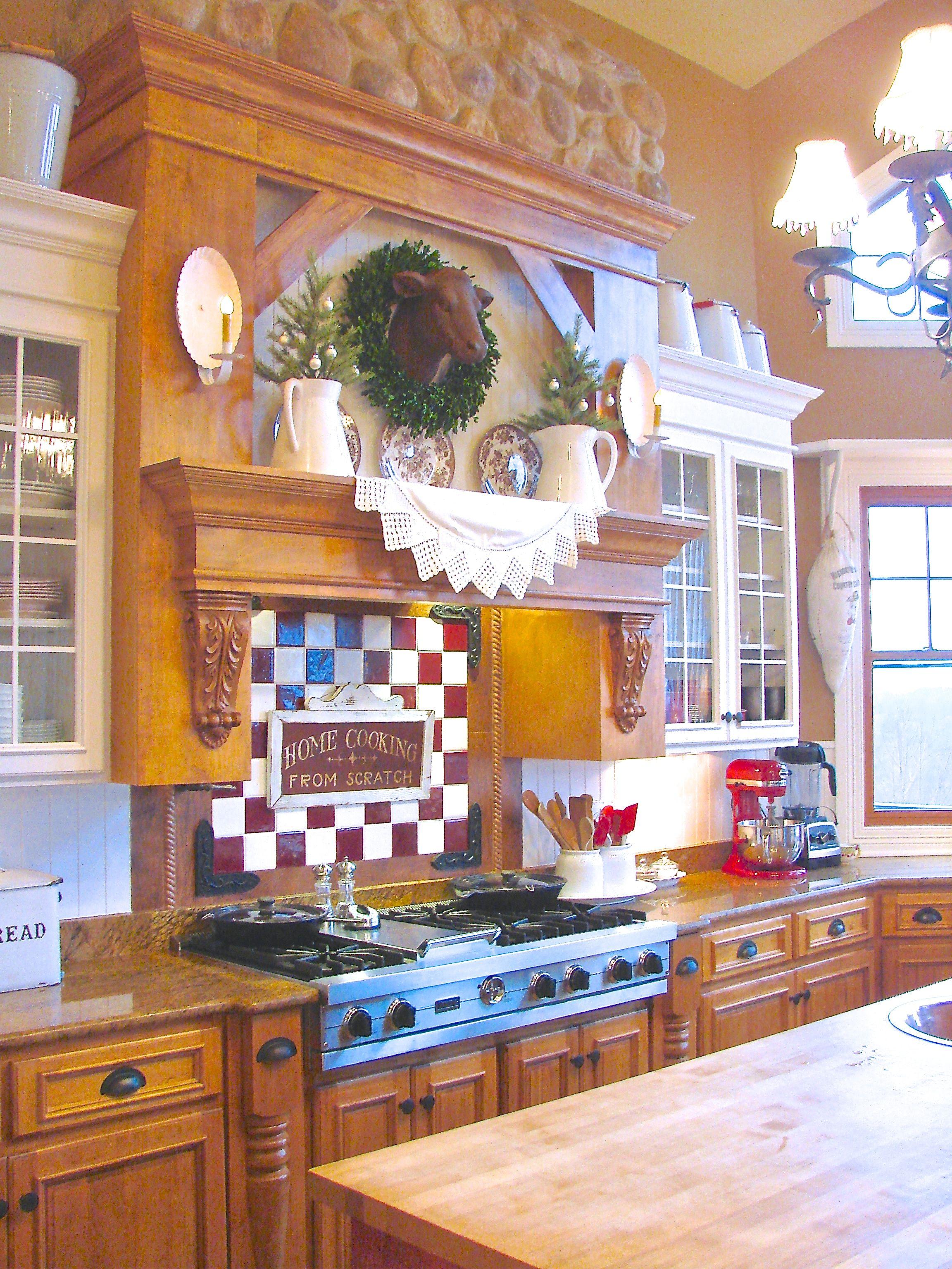christmas home tour at sugar pie farmhouse kitchen decor christmas kitchen on farmhouse kitchen xmas id=63741