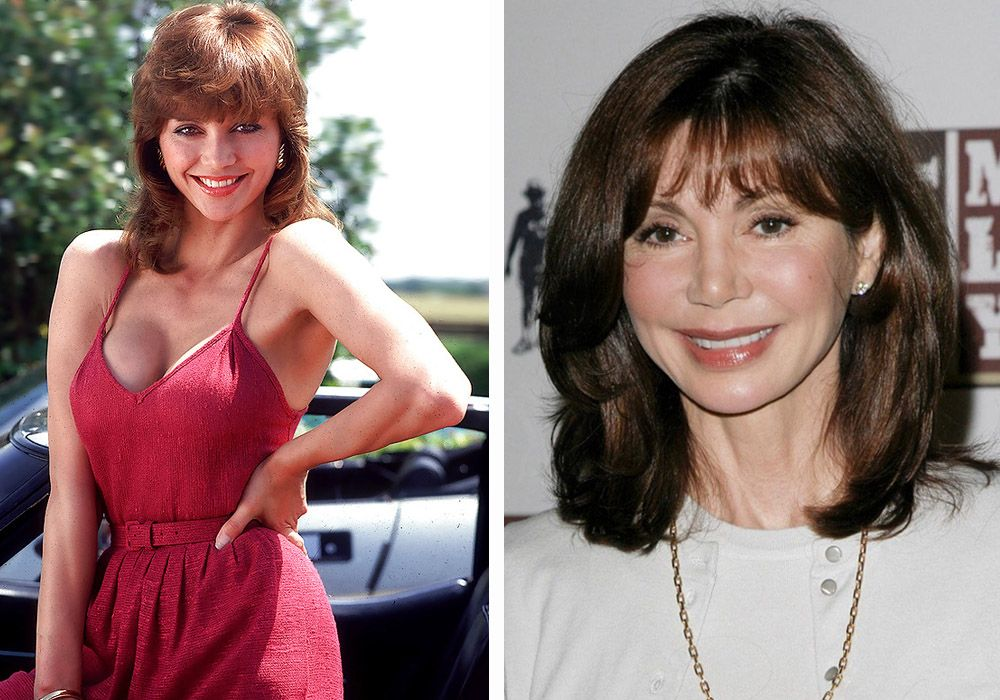 Victoria principal women of the 70 39 s then and now for What does delta burke look like now