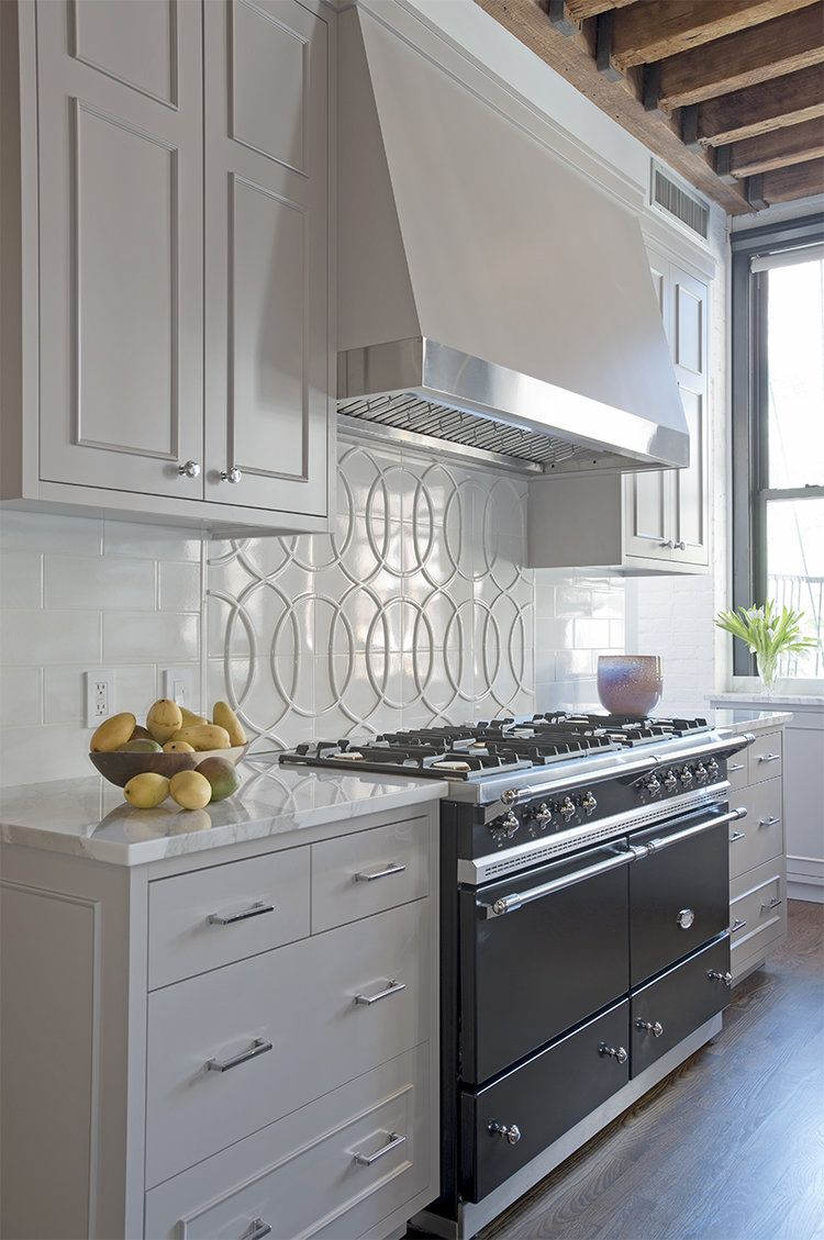 Greenwich Street Loft Cook Eat Repeat Grey Kitchen Cabinets