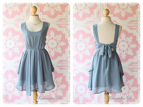 A Party  Prom Party Cocktail Bridesmaid by LovelyMelodyClothing, $46.30