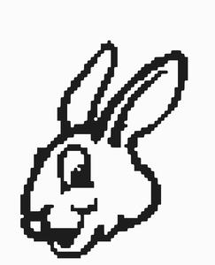 Sketsa Gambar Kelinci Animasi Contoh Gambar Kelinci Dan Untuk Segi Warna Kelinci Kebanyakan Memiliki Warna Tunggal Atau 2 Hing Gambar Kelinci Gambar Sketsa