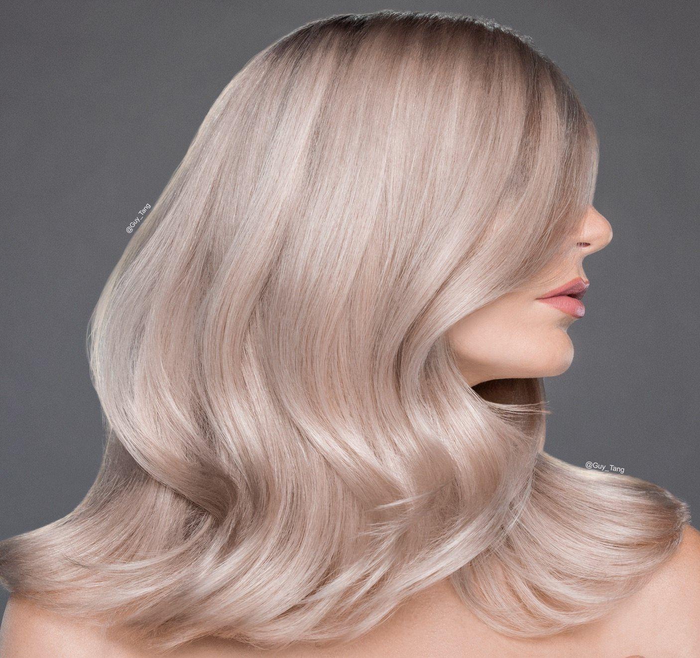 Перламутровый цвет волос в картинках