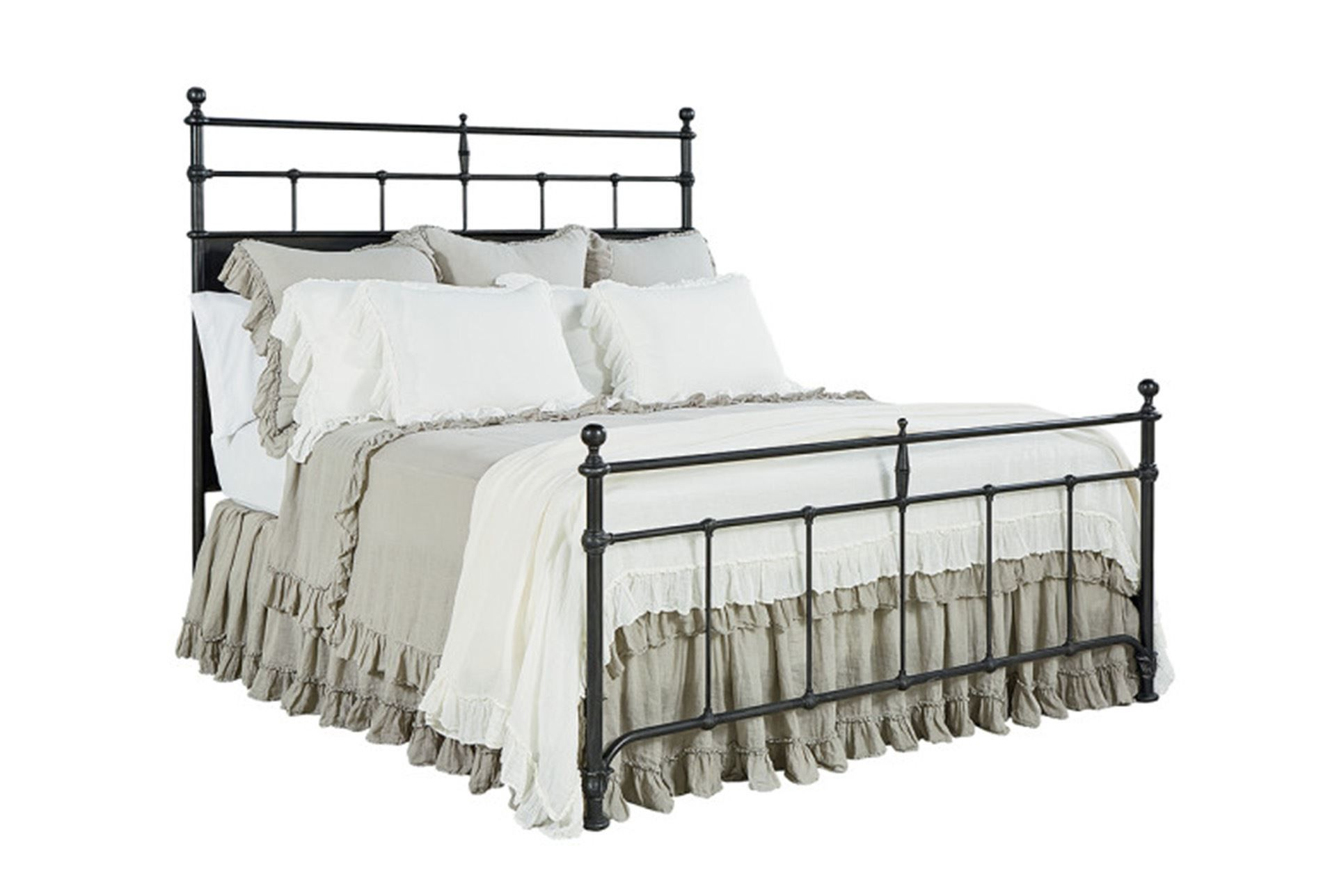Magnolia Home Trellis Queen Panel Bed By Joanna Gaines King