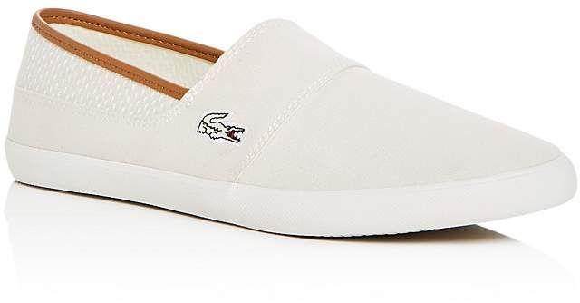 e1d9bf819 Lacoste Men s Marice Slip-On Sneakers