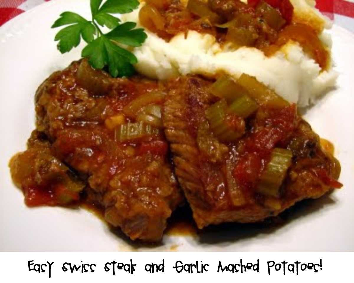 Prepared NOT Scared!: Easy Swiss Steak!