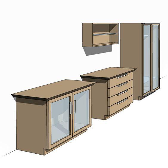 AllinOne Revit Cupboard, Wardrobe, Shelf Family The