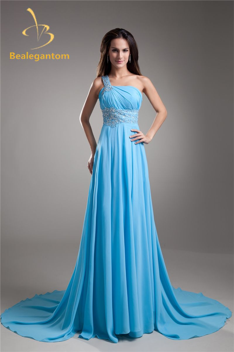 Ethedreal Halter Sequined Chiffon Long Prom Dress For Fall  ec3d7e9f3535