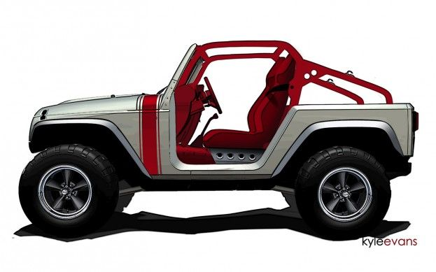 Jeep Previews Custom Wrangler Concepts For Moab
