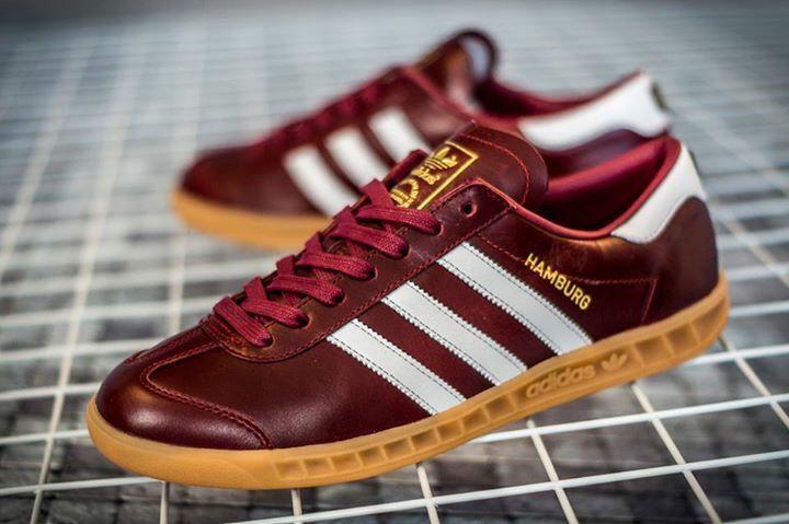 adidas Originals Hamburg 'Made in Germany': Red | Adidas
