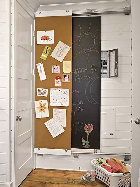 291645ef4cecd9fde7009004170bd251 7 diy chalkboard paint projects cork boards, southern living and Home Hide Fuse Box at edmiracle.co