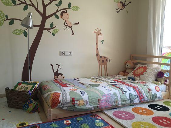 Cameretta Montessori Ikea : Idee di camerette in stile scandi e montessori