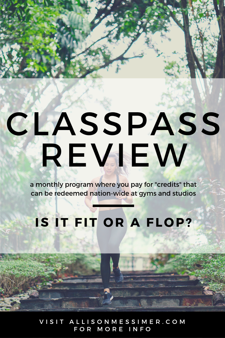 Fitness Classes  Classpass Price Comparison