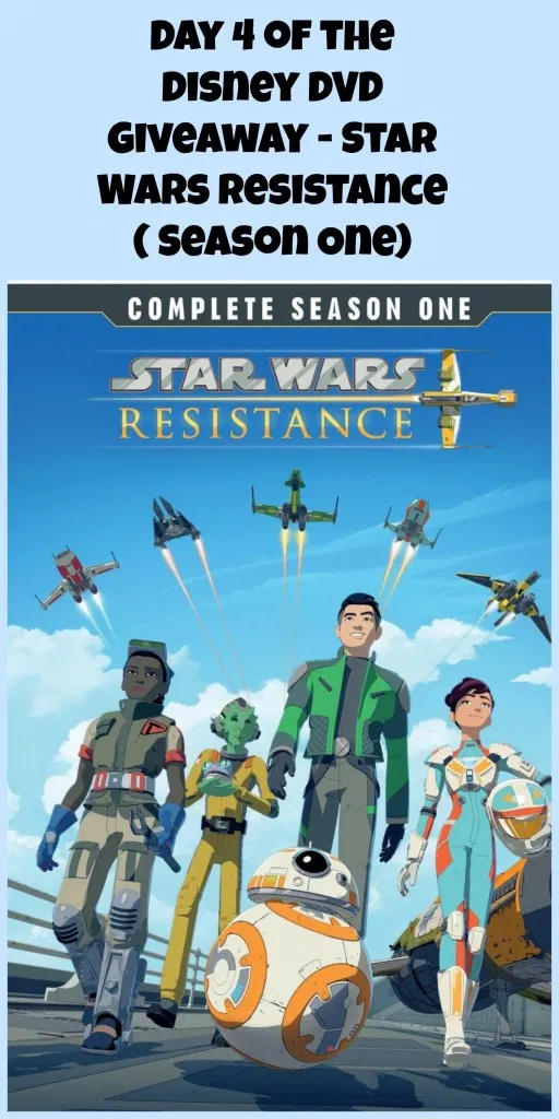 Day 4 of the Disney DVD Giveaway Star Wars Resistance