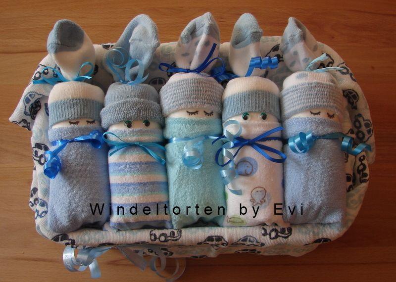 How To Make Diaper Babies Cute And Homemade Baby Shower Gift Windelbabys Windel Geschenke Fur Babyparty