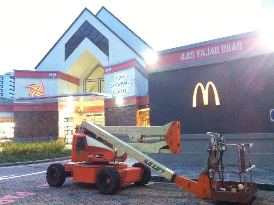 material lift rental singapore