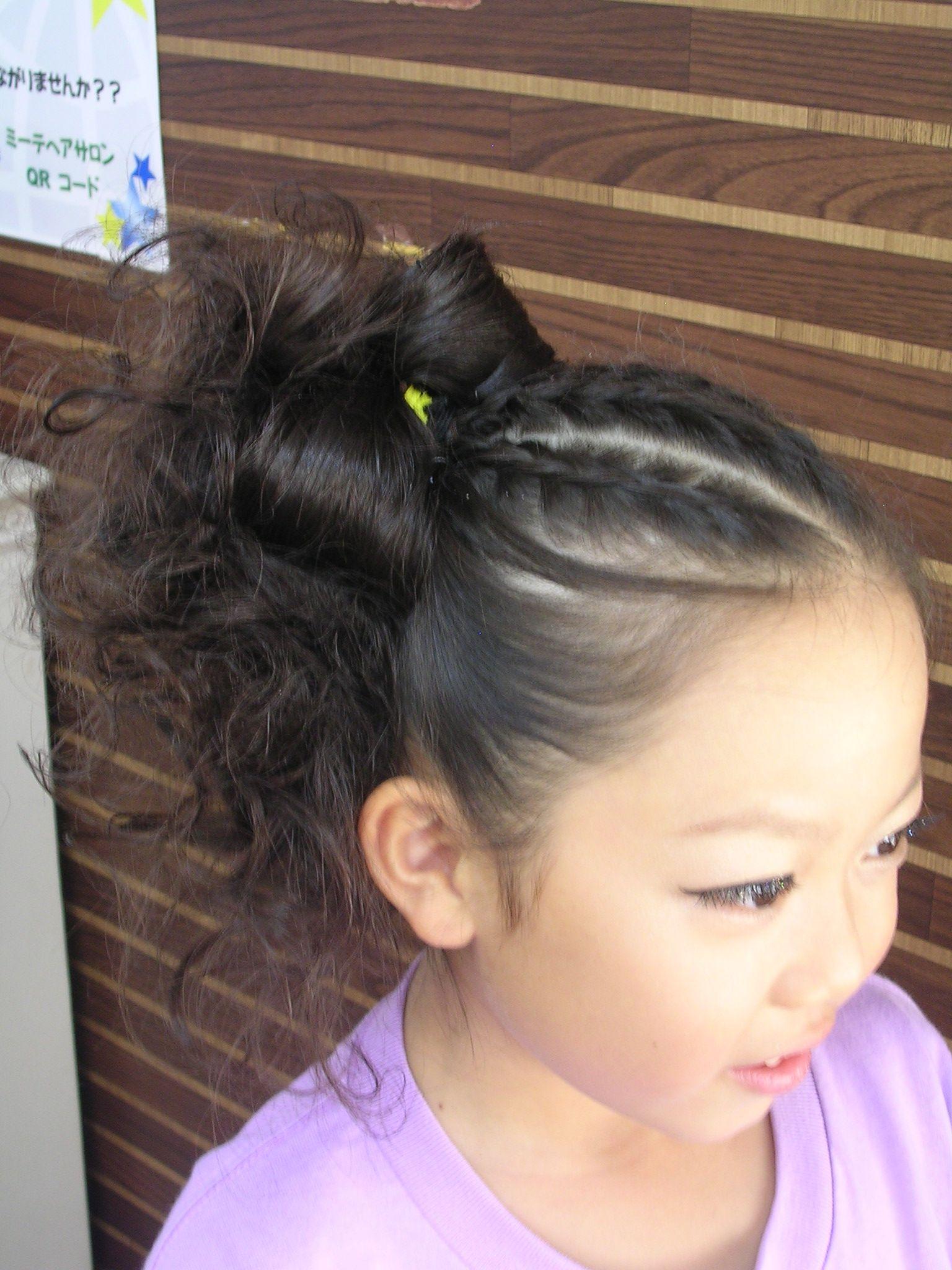 ダンス 髪型 キッズ の画像検索結果 ダンス 髪型 髪型 髪型 簡単