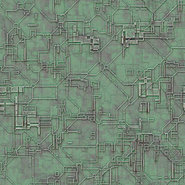 futuristic circuit tile a tileable circuit background