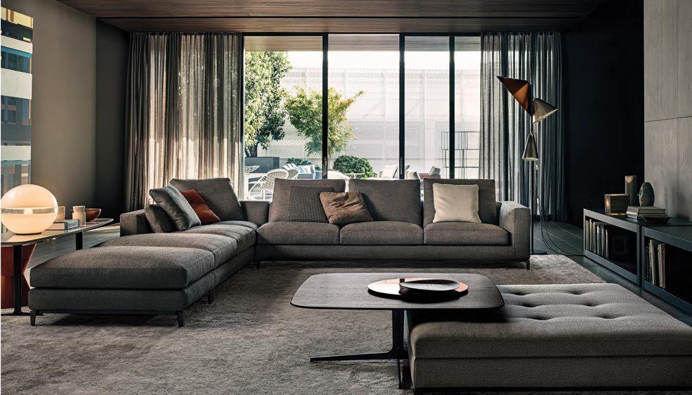 Usa Per Forma Divano Angolo Invertito Tende Contemporary Living RoomsLiving Room