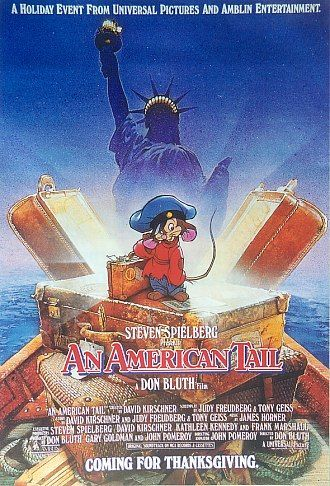 An American Tail Movie Poster #3 - Internet Movie Poster Awards ...