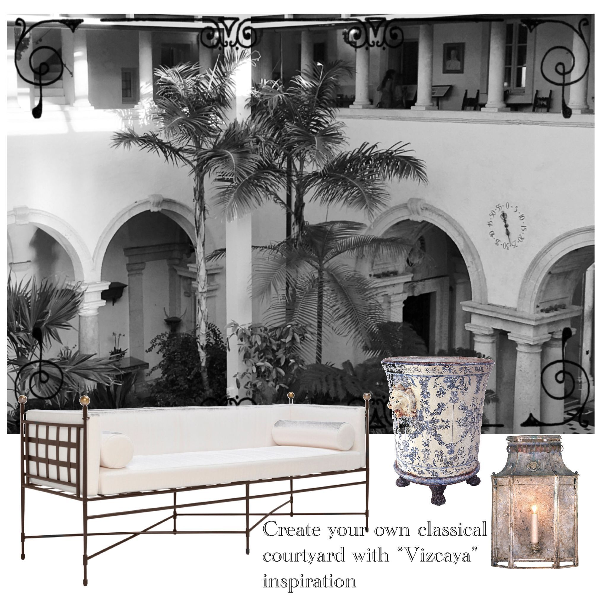 "Patio Furniture Jupiter Fl: You Can Add The Romance Of The 1920's €�Gilded Age"" With"