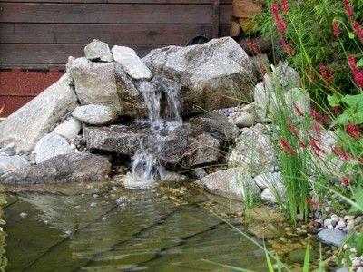 Cascade de jardin en pierre recherche google am nagement du jardin pinterest - Cascade de jardin en pierre ...
