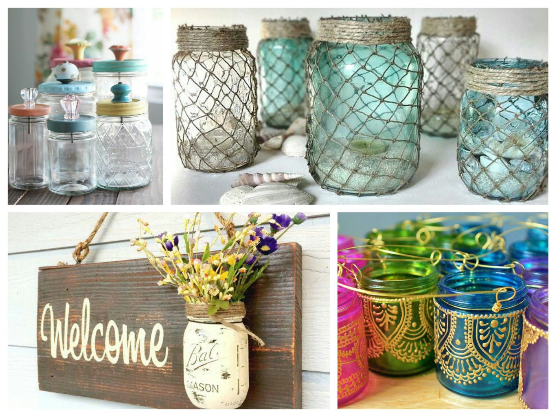 Mason Jar Decorating Ideas Mason Jar Crafts Inspiration  Diy Room Decoration Ideas  Crafts