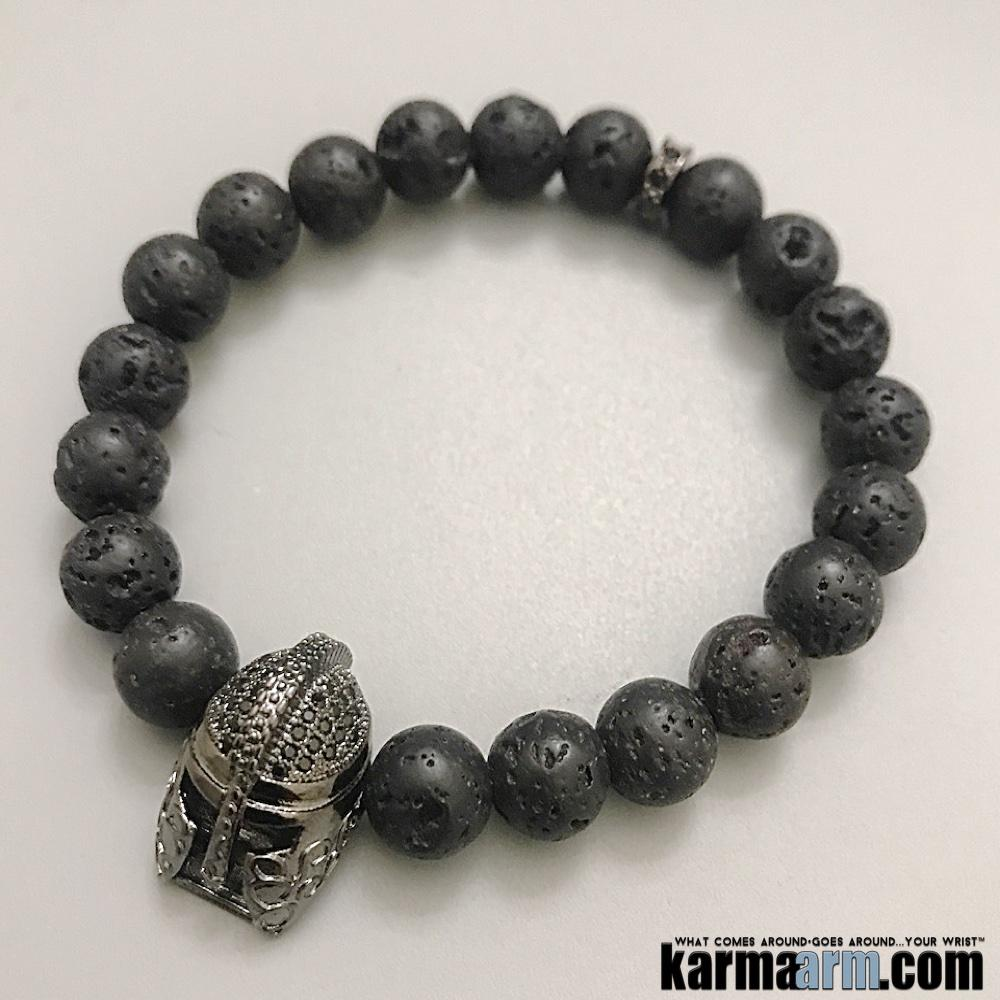 The iconic #Spartan #helmet symbolizes #discipline, #strength, #vigor, #valor, simplicity, frugality, brevity, courageousness, and prowess.....#Lava     #Beaded #Beads #Bijoux #Bracelet #Bracelets #Buddhist #Chakra #Charm #Crystals #Energy #gifts #gratitude #Handmade #Healing #Healing #Jewelry #Kundalini #LawOfAttraction #LOA #Love #Mala #Meditation #Mens #prayer #pulseiras #Reiki #Spiritual #Stacks #Stretch #Womens #Yoga #YogaBracelets