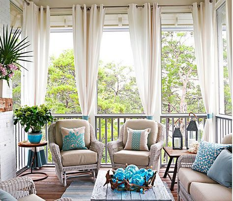 Elegant Home That Abounds With Beach House Decor Ideas Outdoor