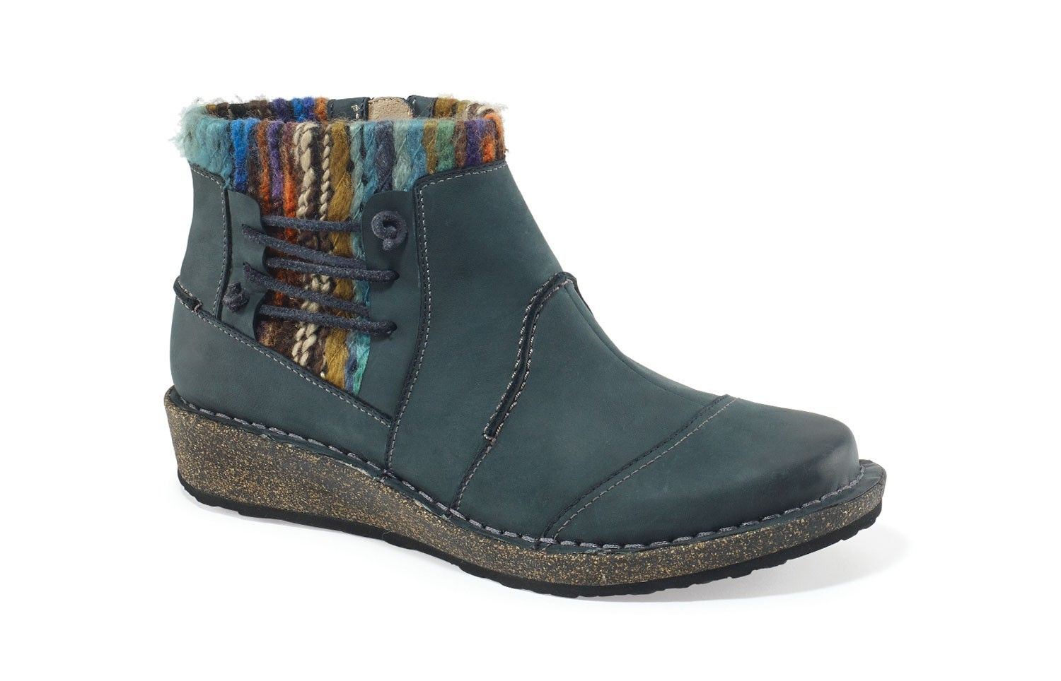 0e5f5d3165c7 TESSA SWEATER ANKLE BOOT - BLUE