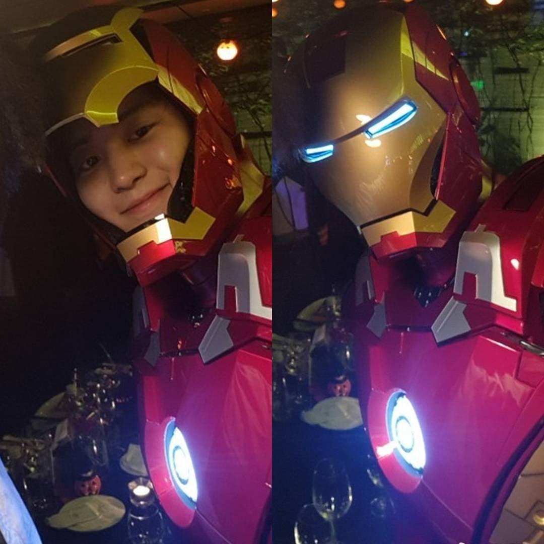Cuando Eres Millonario Soltero Y Te Puedes Dar El Lujo De Comprarte El Traje De Iron Man Chanyeol Baekhyun Suho