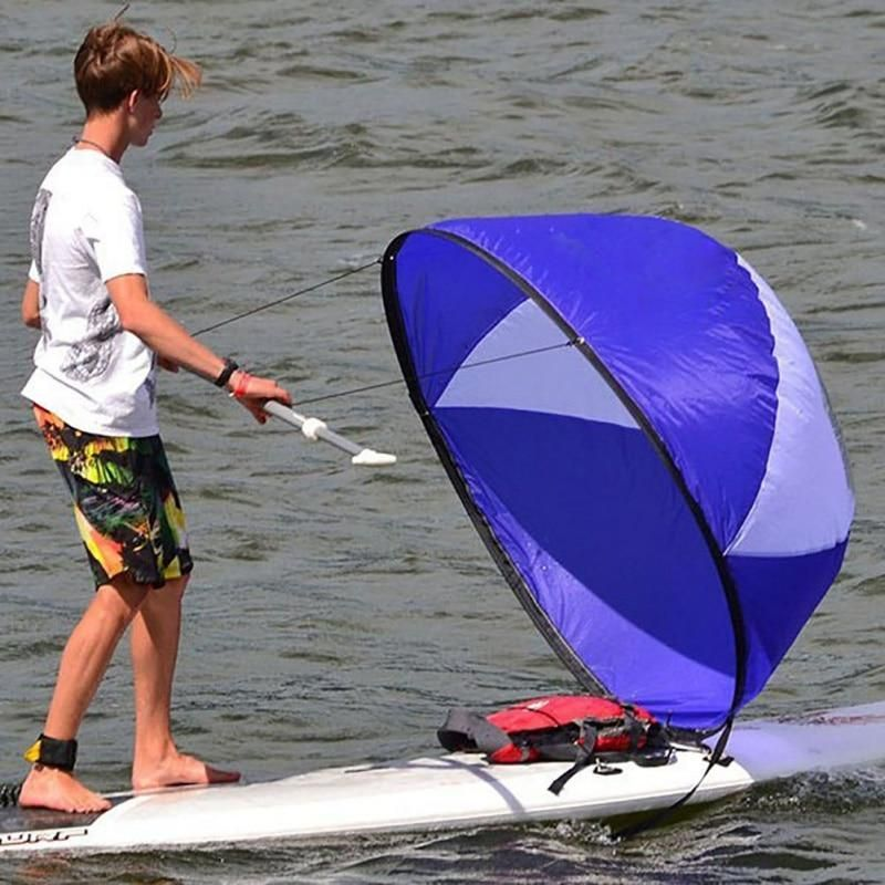 Kayak Boat Wind Sail Sup Paddle Board Sailing Canoe Rowing Boats Wind Windowyu