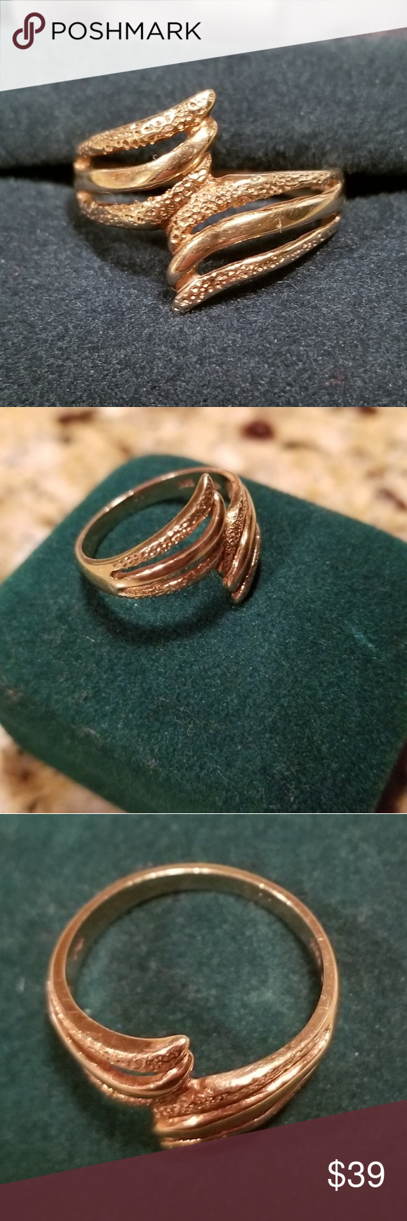 Beautiful 14 Karat Gold Ring Gold Rings 14 Karat Gold Karat