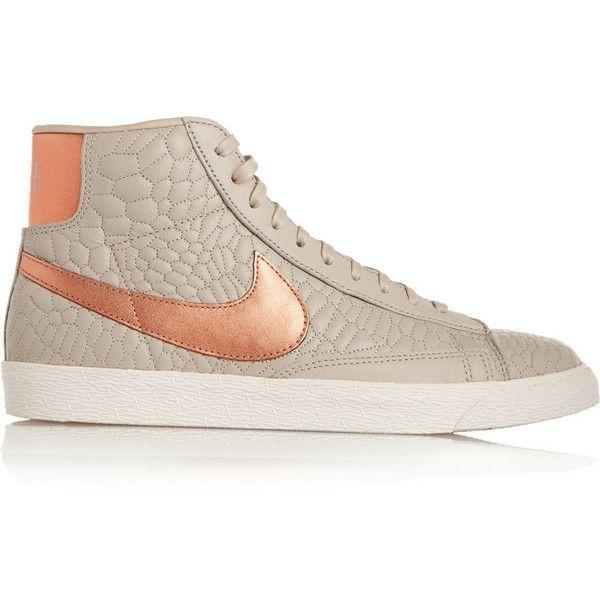 Nike Blazer Chaussures En Cuir Effet Serpent 70 £ En Dollars