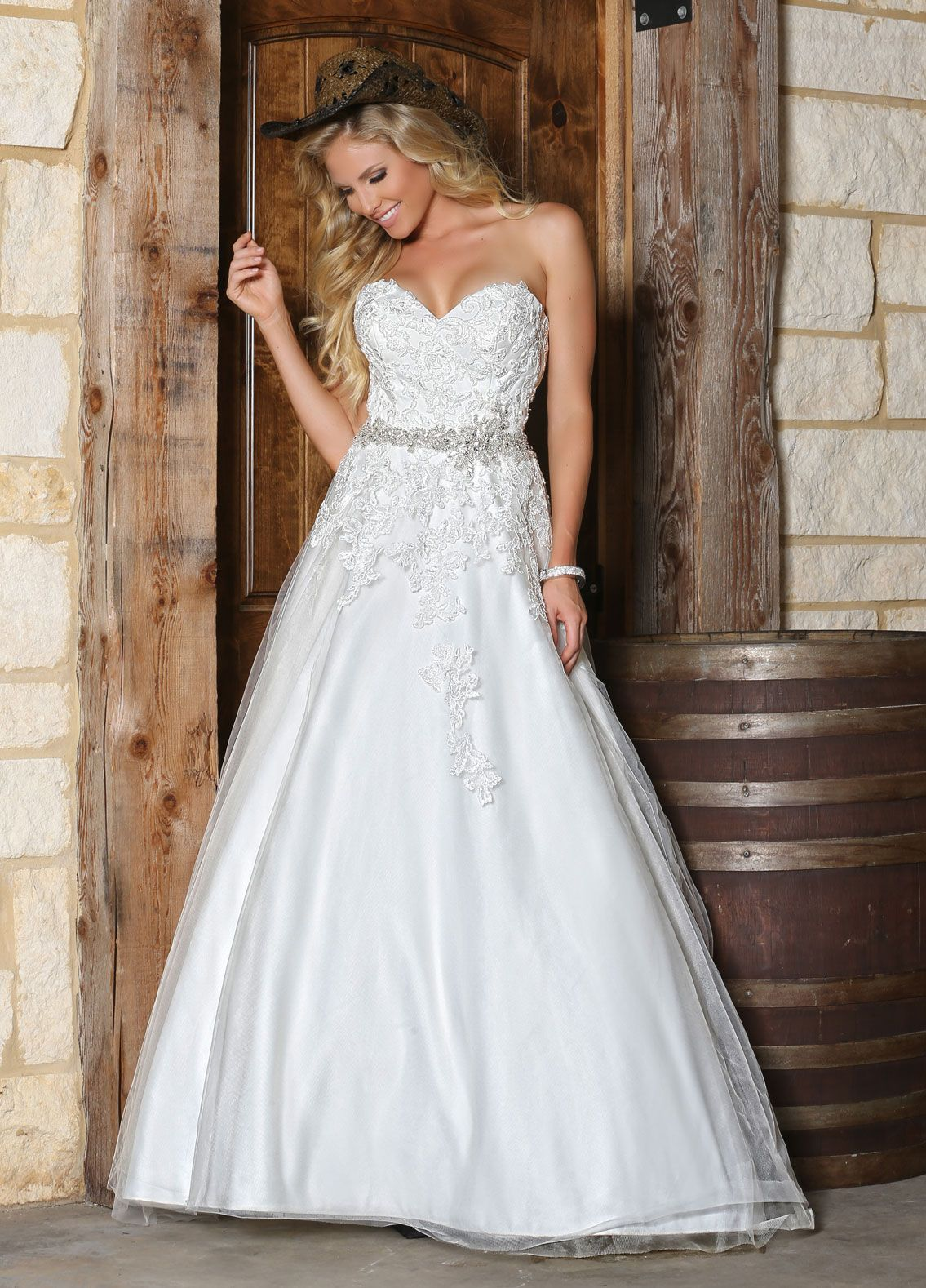 Find A Beautiful Tulle And Lace Wedding Dress With Sophisticated Sparkling Detail In Style