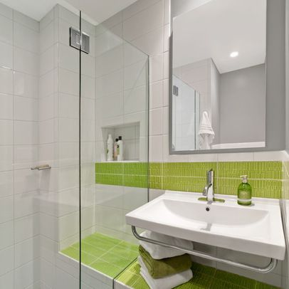 Gray And Green Bathroom Pngcna