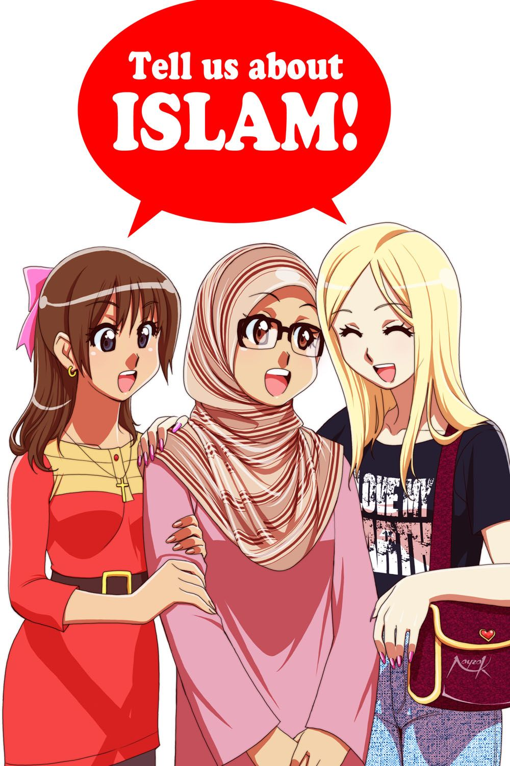 Tell Us About ISLAM By Nayzak On DeviantART Hijab Pinterest