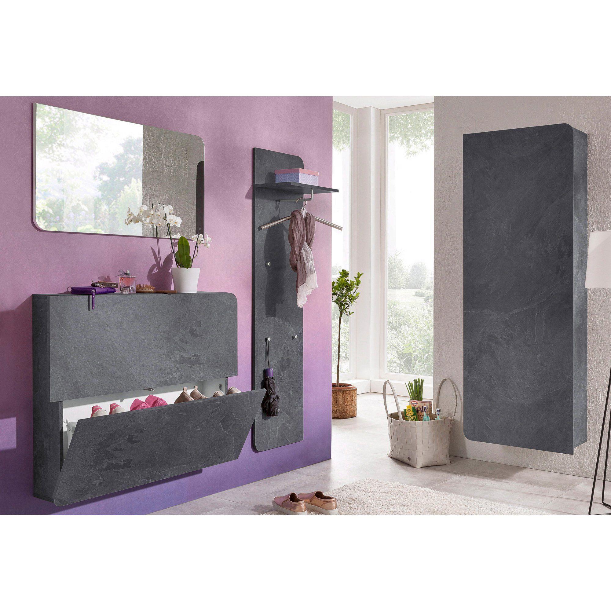 meuble chaussures mural ou poser 2 abattants distingu e murale et dressing. Black Bedroom Furniture Sets. Home Design Ideas