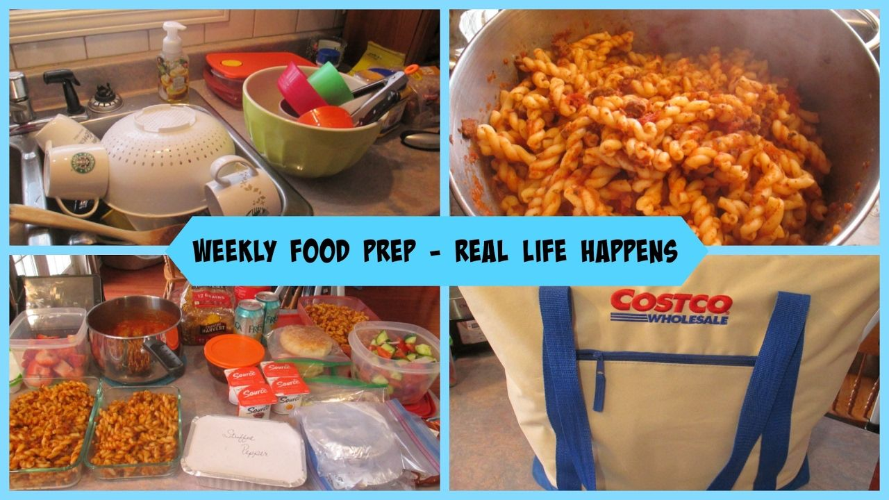 Weekly Food Prep Real Life Happens YouTube
