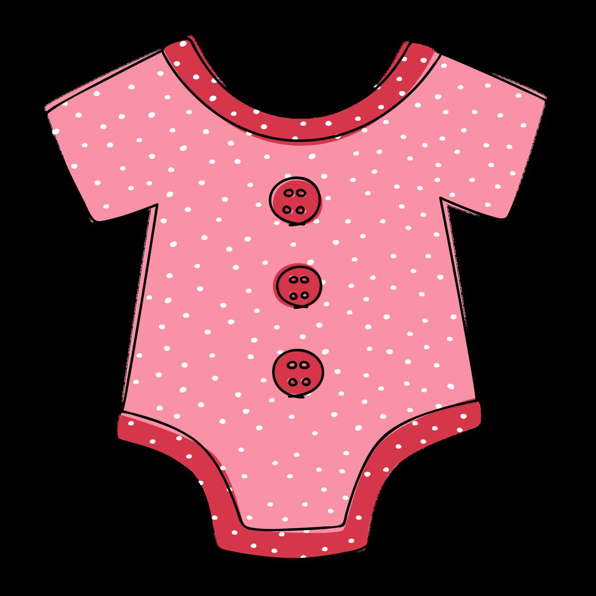 20++ Pink baby onesie clipart information