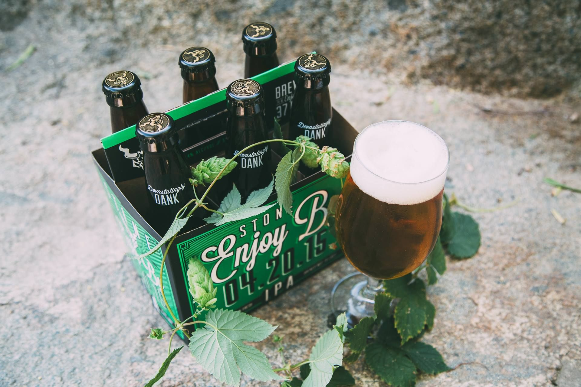 Question: What's better than a bottle of STONE #ENJOYBY 04.20.15 #IPA? Answer: Six bottles of Stone Enjoy By 04.20.15 IPA. This lesson on easy math and simple pleasures brought to you by your fellow hop-heads at Stone.